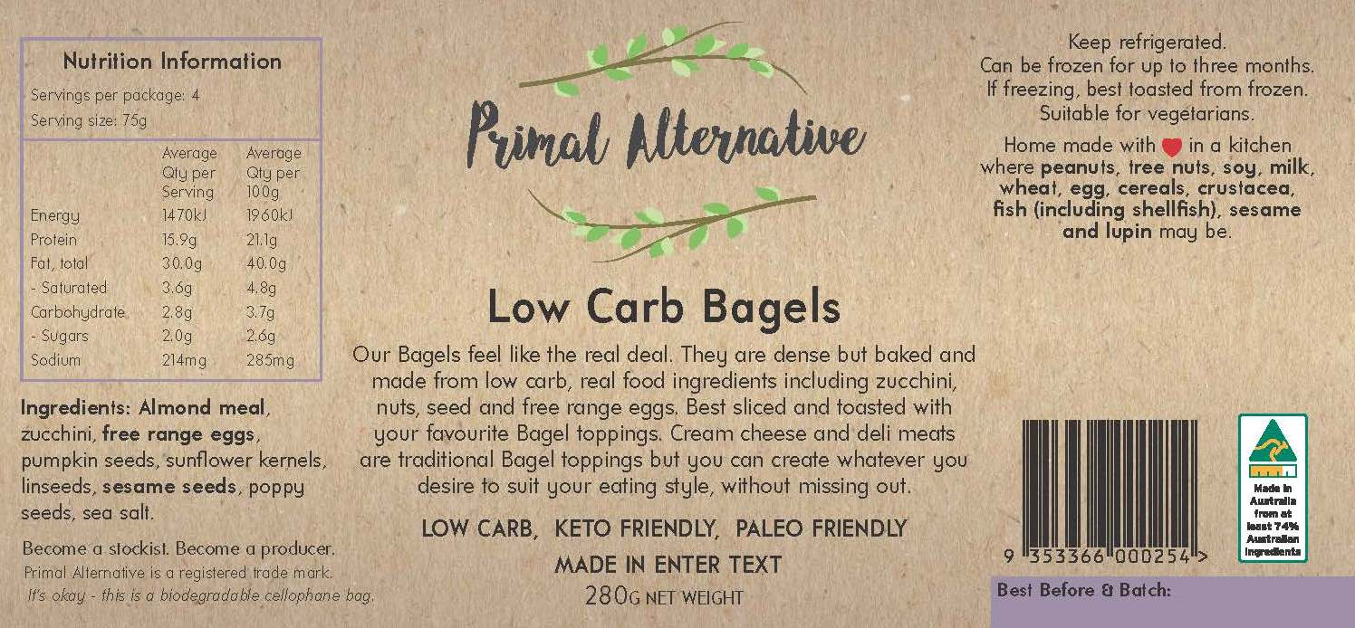 LABEL_Low Carb Bagels