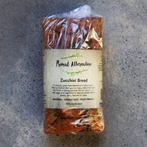 Primal Alternative Zucchini Bread 9931