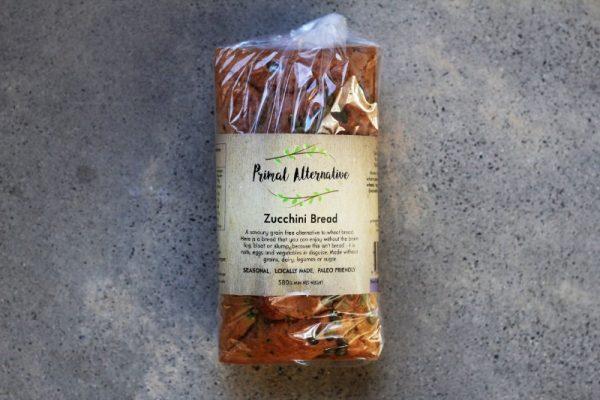Primal Alternative Zucchini Bread 9931