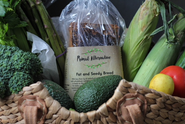 Fat and Seedy Grain Free Bread Basket