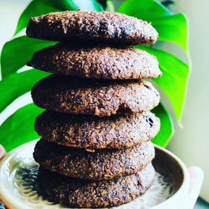 triple choc keto cookies